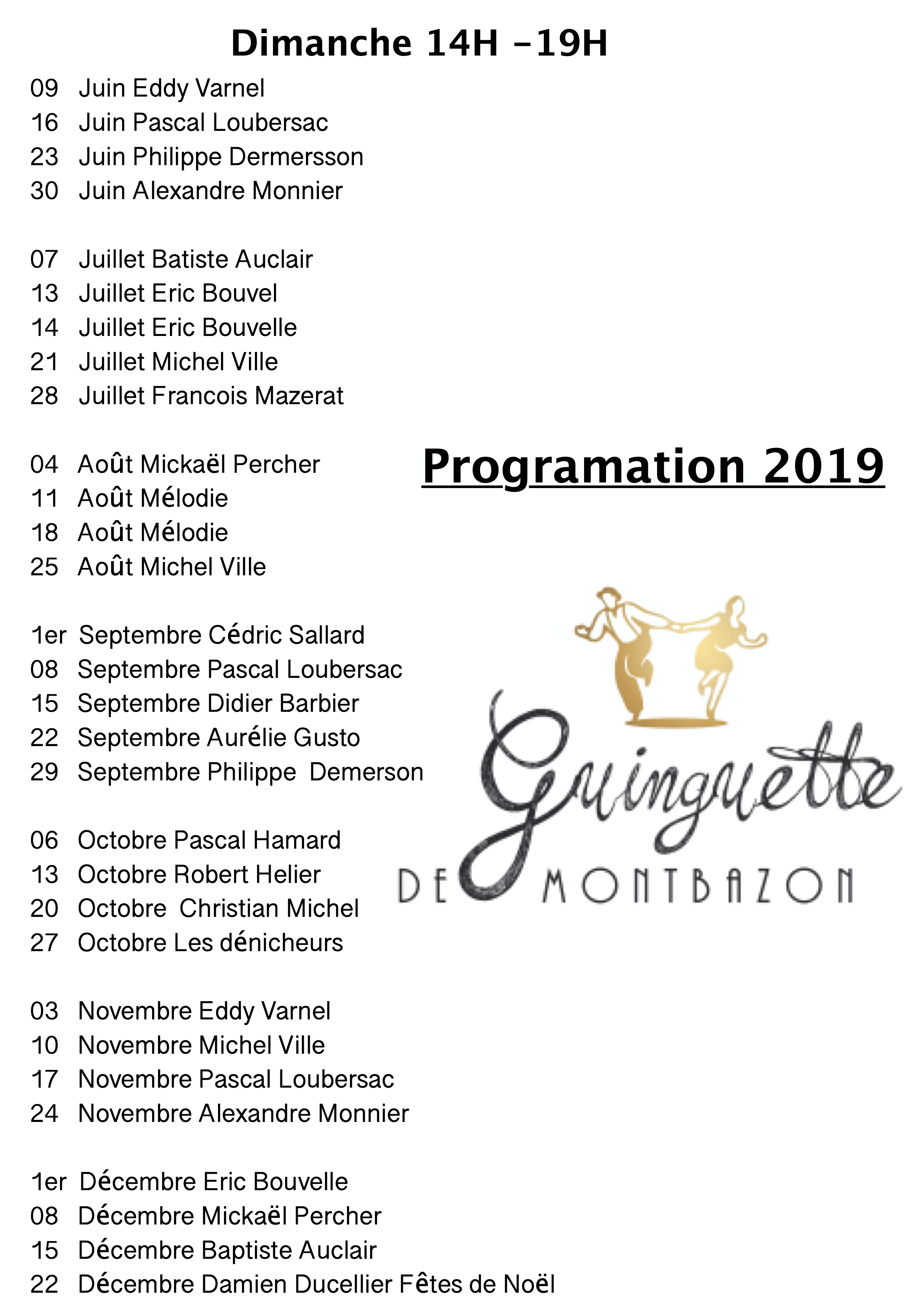 Orchestre Guinguette de Montbazon